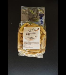 Taralli Finocchio Extra Larghi Evo 350 gr. - Caricone